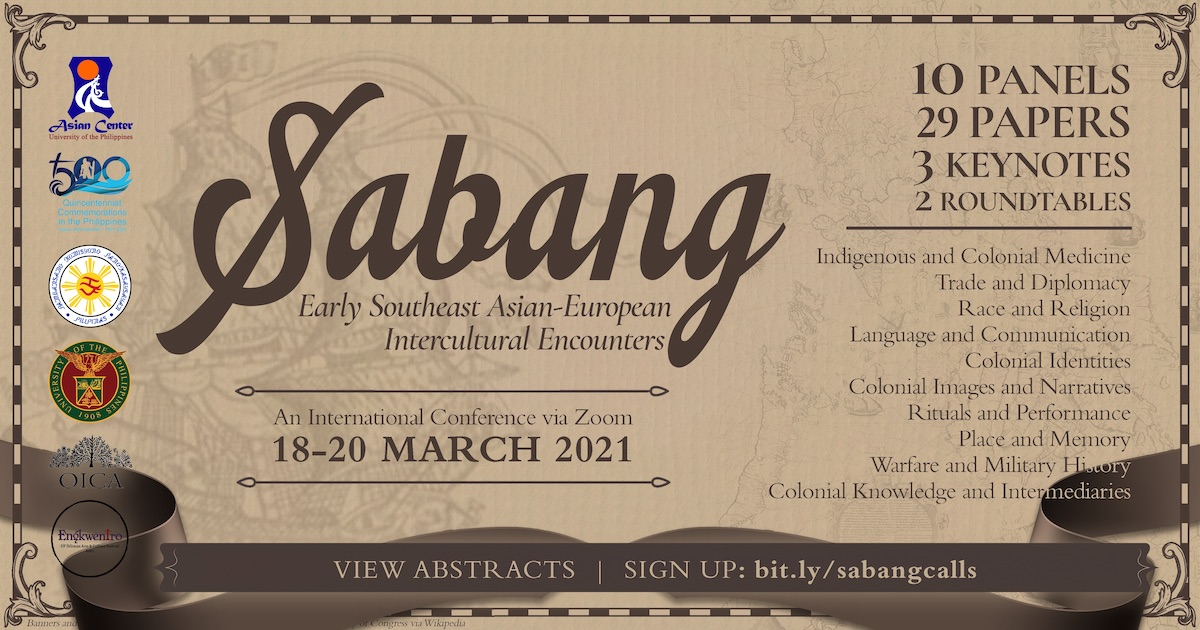 'Sabang' conference to look at the Philippines in its global and Southeast Asian context